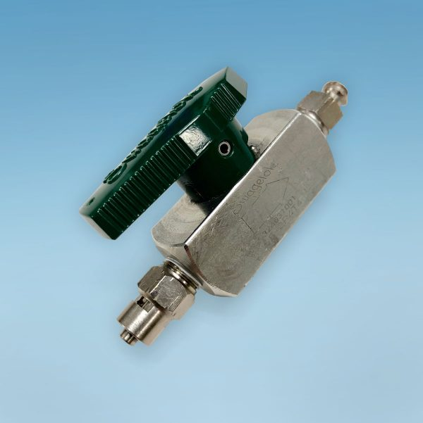 Volume isolation valve